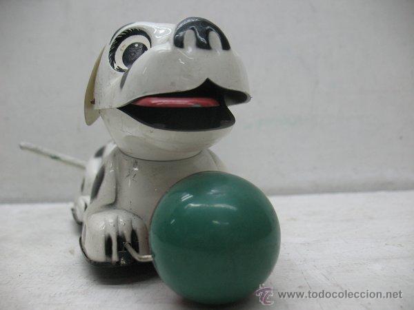Juguetes antiguos Payá: Paya - Perro dálmata con mecanismo a cuerda fabricado en España - Foto 5 - 43728325
