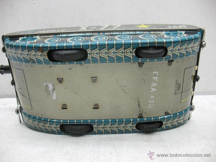 Juguetes antiguos Payá: Tanque Jaguar X-77 I-643 de Hojalata con mecanismo a pilas - Foto 11 - 44149544