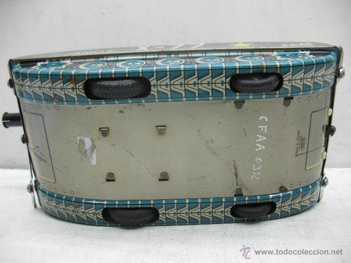 Juguetes antiguos Payá: Tanque Jaguar X-77 I-643 de Hojalata con mecanismo a pilas - Foto 14 - 44149544