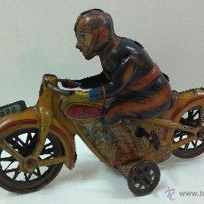 Altes Spielzeug Payá - MOTO PAYA I 922 ( HOJALATA A CUERDA )ORIGINAL AÑOS 30 - 44438192