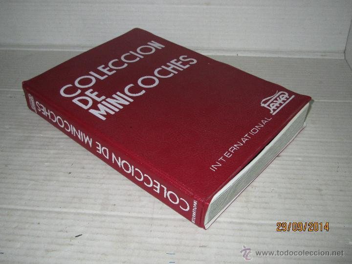 ANTIGUO MALETÍN VACIO COLECCION DE MINICOCHES ESCALA 1/65 APROX DE PAYÁ INTERNATIONAL - AÑO 1960-70S (Juguetes - Marcas Clásicas - Payá)