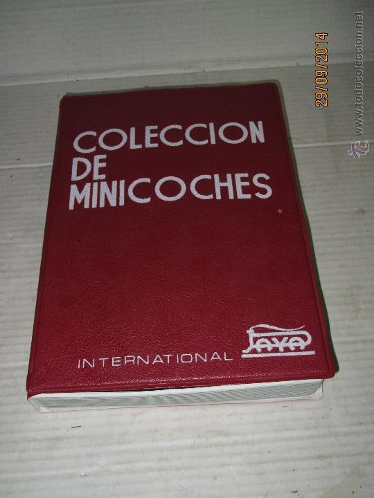 Juguetes antiguos Payá: Antiguo Maletín Vacio COLECCION DE MINICOCHES Escala 1/65 Aprox de PAYÁ INTERNATIONAL - Año 1960-70s - Foto 4 - 45474731