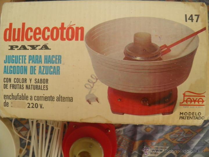 147 De Payá 60 Hacer años caja Dulcecotón Para Algodon juguete Original Azucar 8Nwvmn0