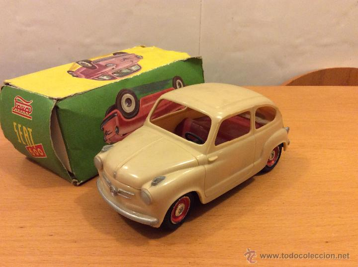 SEAT 600 ORIGINAL 1ª SERIE DE 1958 ESCALA 1:20 (Juguetes - Marcas Clásicas - Payá)