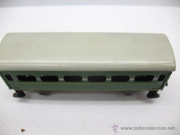 Juguetes antiguos Payá: Paya,vagon metalico de Pasajeros- Escala H0 - Foto 3 - 46086073