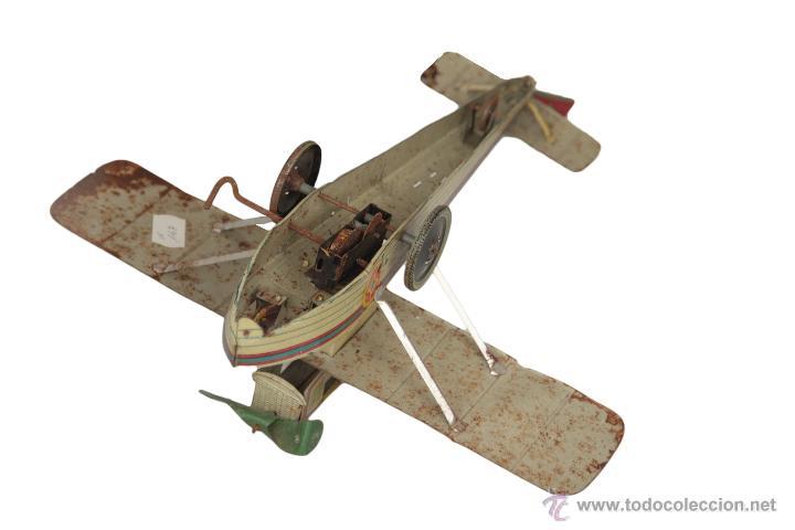 Juguetes antiguos Payá: Payá Avión 916 PLUS ULTRA ORIGINAL - Foto 3 - 46086503