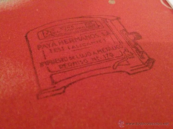 Juguetes antiguos Payá: SET 700 Y 701 CONSTRUCCIONES JUGUETES RAY - HERMANOS PAYÁ ALICANTE IBI - Muy Difícil !!! Años 40`s - Foto 9 - 46931255
