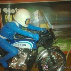 Juguetes antiguos Payá - Antigua Moto Honda Policia de Paya. Años 70 con su caja original. - 47732660
