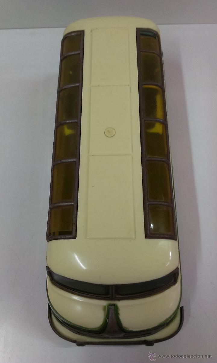 Juguetes antiguos Payá: AUTOBUS TIPO STUDEBAKER. MARCA PAYA. AÑOS 50 - Foto 7 - 118421946