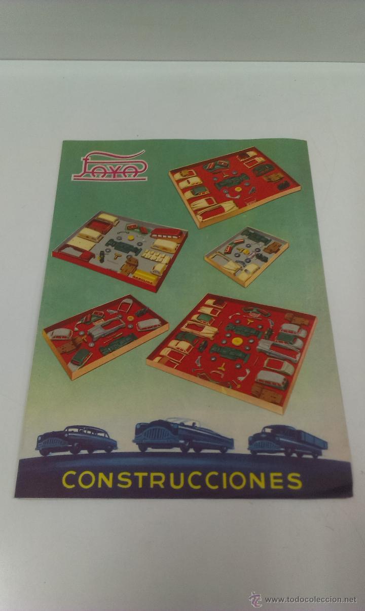Juguetes antiguos Payá: CONSTRUCCIONES PAYA . REF 772 / 7. MODELO CABRIOLE - Foto 8 - 49624170