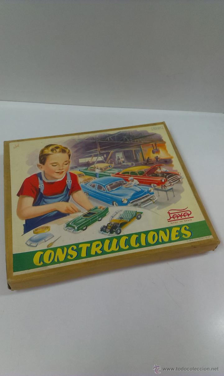 Juguetes antiguos Payá: CONSTRUCCIONES PAYA . REF 772 / 7. MODELO CABRIOLE - Foto 11 - 49624170