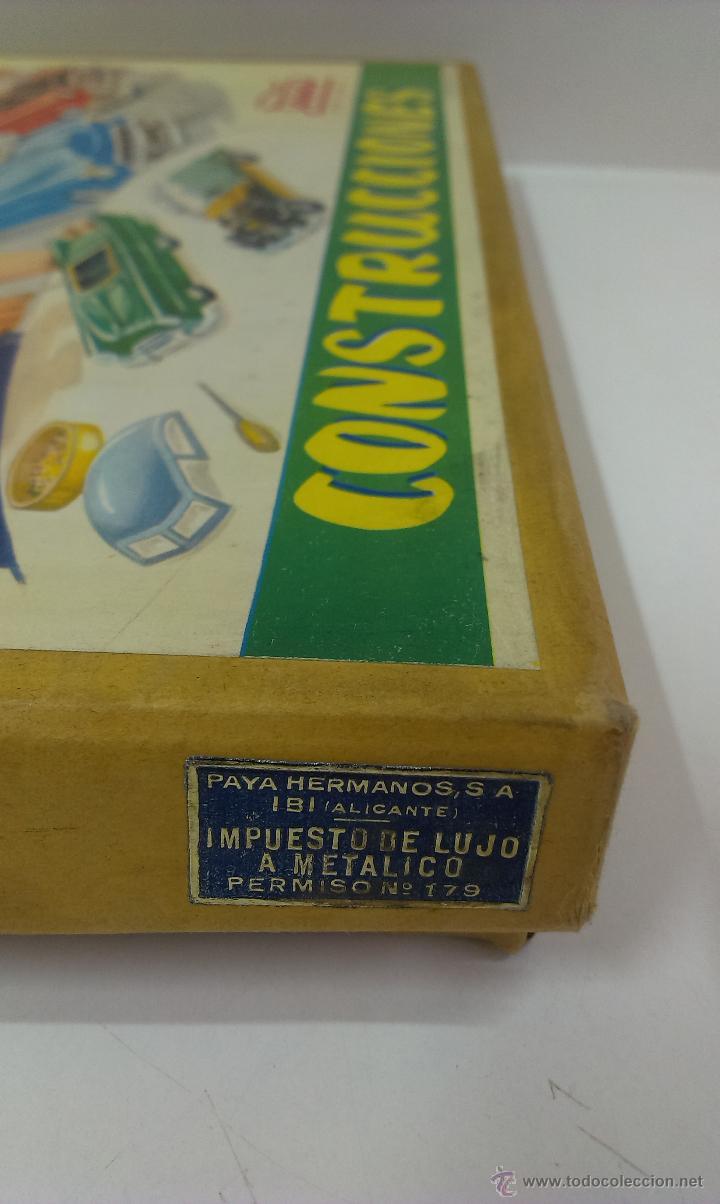 Juguetes antiguos Payá: CONSTRUCCIONES PAYA . REF 772 / 7. MODELO CABRIOLE - Foto 12 - 49624170
