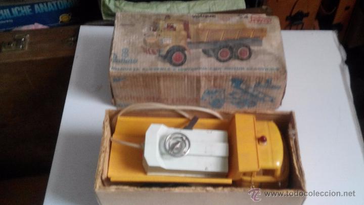 Juguetes antiguos Payá: camion volquete de paya en caja - Foto 2 - 155054968