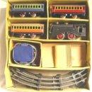 Juguetes antiguos Payá: LOTE TREN PAYÁ ELÉCTRICO EN CAJA, FUNCIONA. Lote 49675561