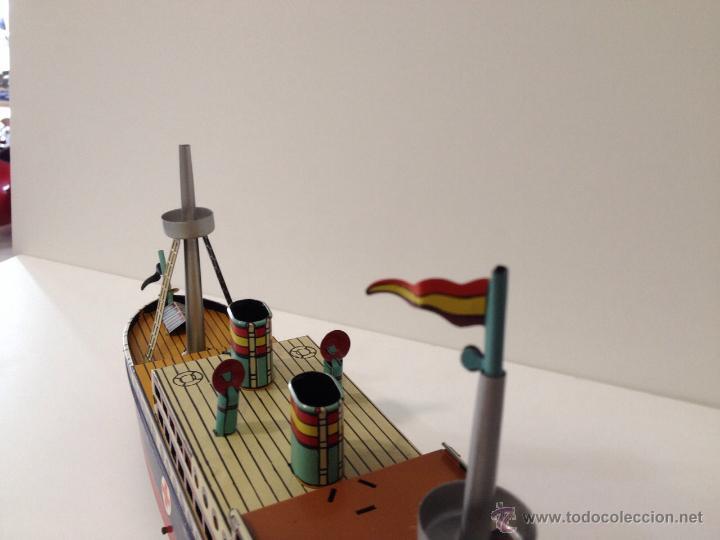 Juguetes antiguos Payá: Barco Payá reeproducción cooperativa.Cruz Roja - Foto 4 - 49727228