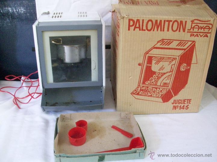 JUGUETE ANTIGUO-PALOMITON DE PAYA-PARA HACER PALOMITAS-AÑOS 60-CAJA ORIGINAL (Juguetes - Marcas Clásicas - Payá)