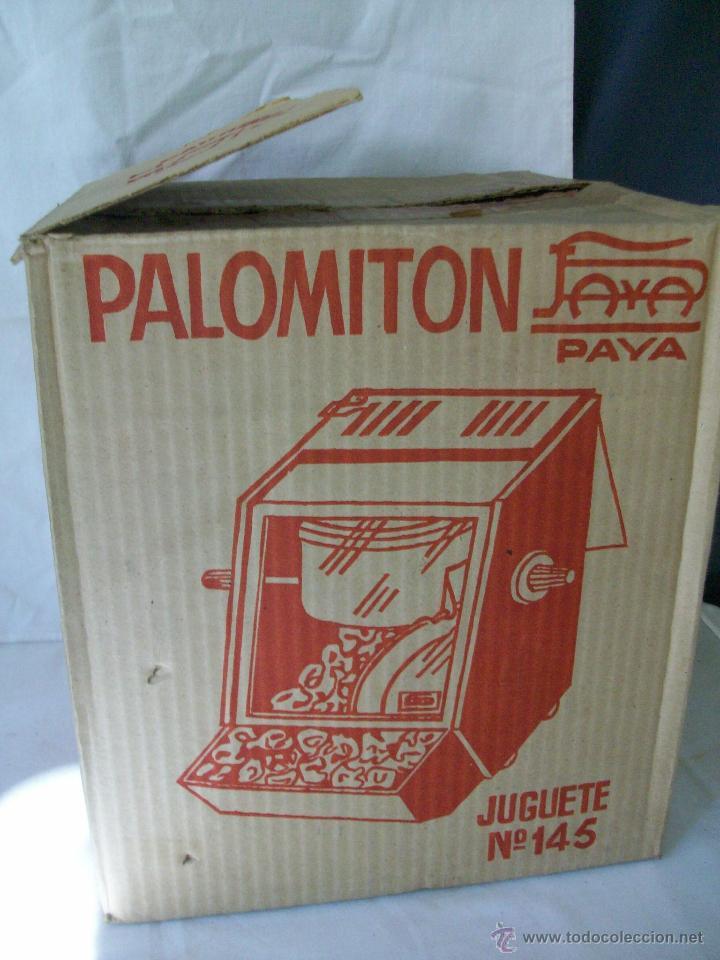 Juguetes antiguos Payá: JUGUETE ANTIGUO-PALOMITON DE PAYA-PARA HACER PALOMITAS-AÑOS 60-CAJA ORIGINAL - Foto 10 - 100354184