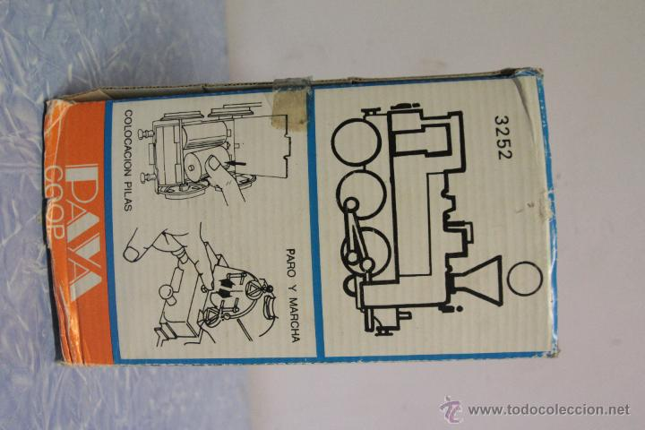 Juguetes antiguos Payá: PAYA - LOCOTREN - A ESTRENAR- A PILAS - Foto 4 - 51394641