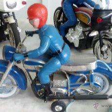 Juguetes antiguos Payá - moto paya original funcionando - 51639393