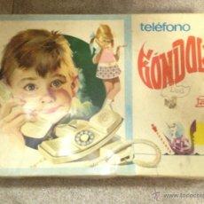 Juguetes antiguos Payá: DOS TELÉFONOS GONDOLA. PAYÁ.. Lote 53057881