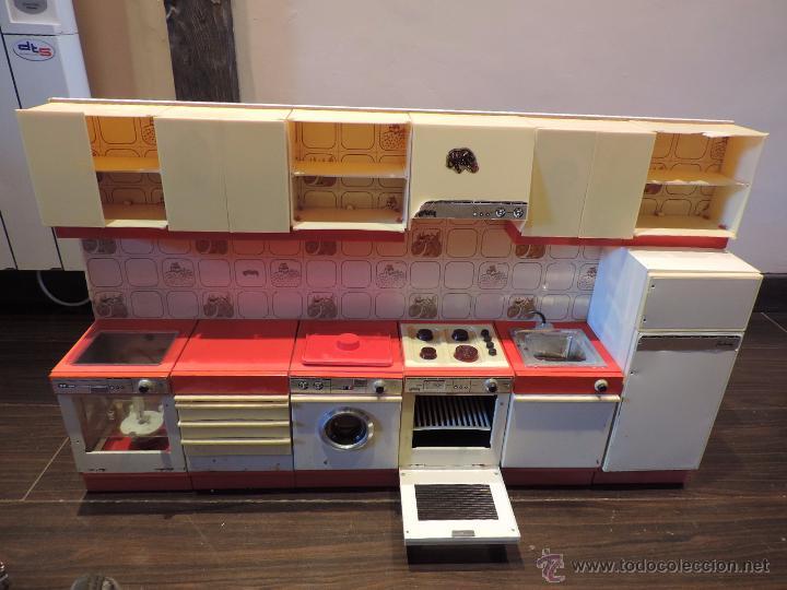 Antigua cocina cocinita forlady de 6 m dulos comprar for Cocina juguete segunda mano