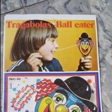 Juguetes antiguos Payá: TRAGABOLAS PAYA NUEVO A ESTRENAR. Lote 54102627
