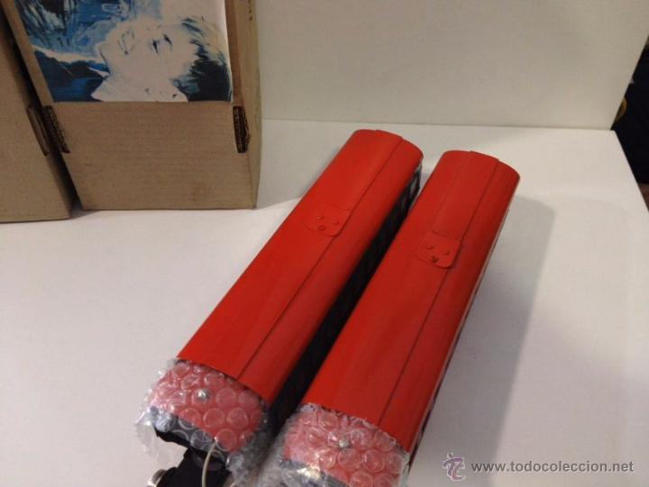 Juguetes antiguos Payá: Set automotor Payá color rojo y gris. - Foto 3 - 54262034