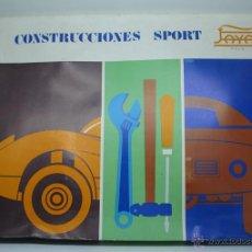 Juguetes antiguos Payá: CONSTRUCCIONES SPORT DE PAYA. Lote 54785865