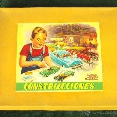 Juguetes antiguos Payá: CONSTRUCCIONES. JUEGO DE CONSTRUCCIÓN DE VEHICULOS. PAYA. ESPAÑA. CIRCA 1950.. Lote 49323058