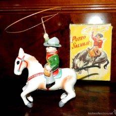 Altes Spielzeug Payá - Potro salvaje ref. 673, fabricado en plástico por la casa Payá, años 50. Funcionando perfectamente a - 55380390