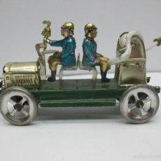 Juguetes antiguos Payá: PAYA - RÉPLICA COCHE DE BOMBEROS DE HOJALATA. Lote 257933340