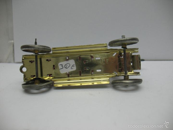 Juguetes antiguos Payá: Paya - Réplica coche de bomberos de hojalata - Foto 6 - 257933620