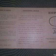 Juguetes antiguos Payá: CARNET DE CONDUCIR DEL BMW DE PAYÁ. Lote 56651841