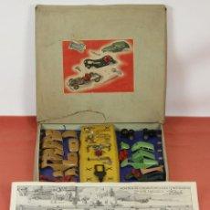 Juguetes antiguos Payá: MONTAJE DE LOS AUTOMOVILES CONSTRUIDOS EN LOS TALLERES RAI. JUGUETES PAYA. MODELO 700. 1938. . Lote 57906421