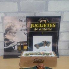 Juguetes antiguos Payá: COCHE HOJALATA BUGATTI PAYA REEDICION. Lote 58359212
