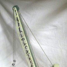 Juguetes antiguos Payá: CAMIÓN GRÚA HÉRCULES DE PAYA AÑO 1970. MED 37 X 16 X 61 CM. Lote 59656095