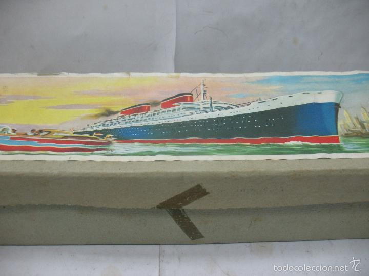 Juguetes antiguos Payá: PAYA Ref: 3074 - Antigua caja original de barco fabricada en España - Foto 3 - 60920555