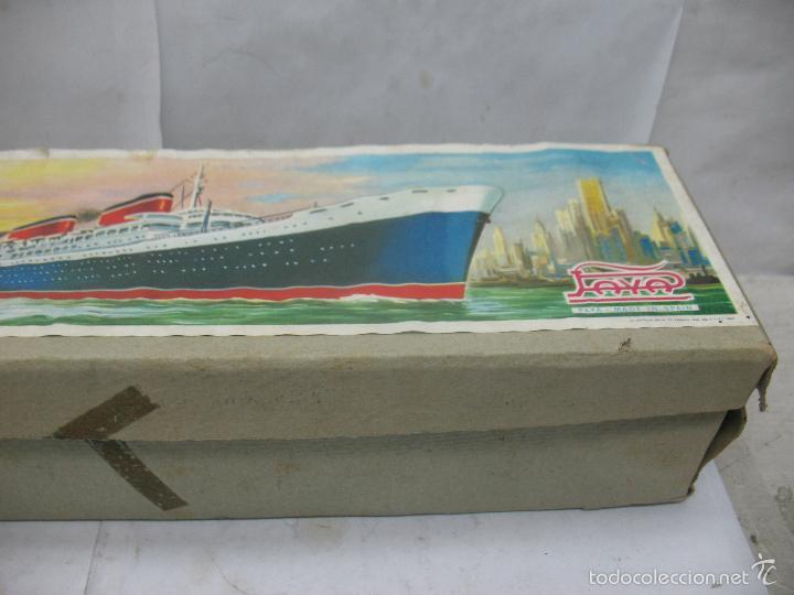 Juguetes antiguos Payá: PAYA Ref: 3074 - Antigua caja original de barco fabricada en España - Foto 4 - 60920555