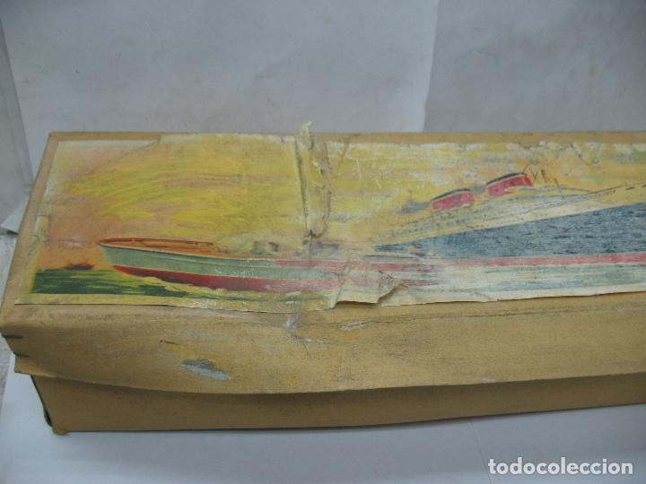 Juguetes antiguos Payá: PAYA - Antiguo barco de plástico con mecanismo a cuerda - Foto 10 - 63287268
