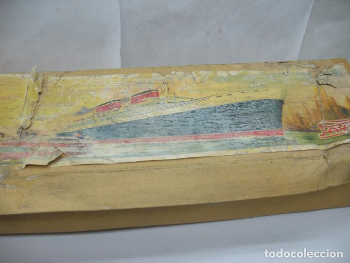 Juguetes antiguos Payá: PAYA - Antiguo barco de plástico con mecanismo a cuerda - Foto 11 - 63287268