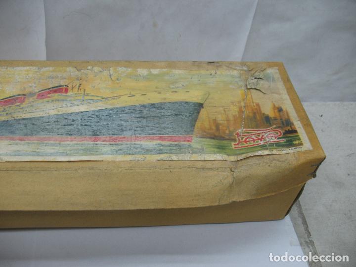 Juguetes antiguos Payá: PAYA - Antiguo barco de plástico con mecanismo a cuerda - Foto 12 - 63287268