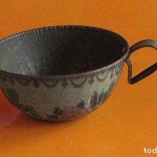Juguetes antiguos Payá: TAZA - PAYA - AÑOS 1930 - LITOGRAFIADA - CON MOTIVOS ORIENTALES. Lote 63338412