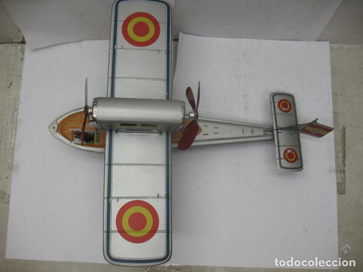 Juguetes antiguos Payá: PAYÁ Ref: 1653 - Réplica avión de la Colección Payá Hermanos 1985 - Foto 2 - 64649459