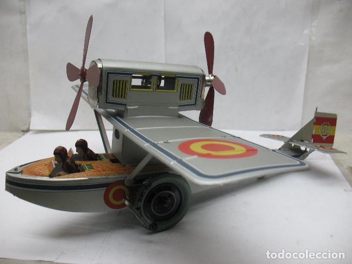 Juguetes antiguos Payá: PAYÁ Ref: 1653 - Réplica avión de la Colección Payá Hermanos 1985 - Foto 3 - 64649459
