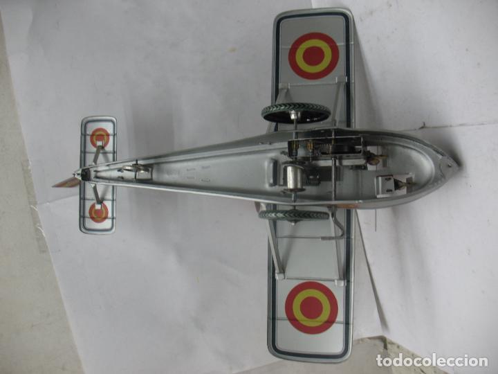 Juguetes antiguos Payá: PAYÁ Ref: 1653 - Réplica avión de la Colección Payá Hermanos 1985 - Foto 4 - 64649459