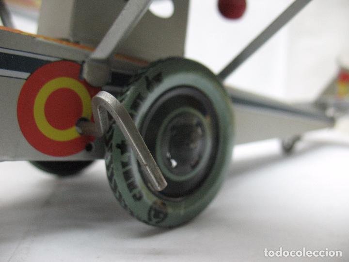 Juguetes antiguos Payá: PAYÁ Ref: 1653 - Réplica avión de la Colección Payá Hermanos 1985 - Foto 5 - 64649459