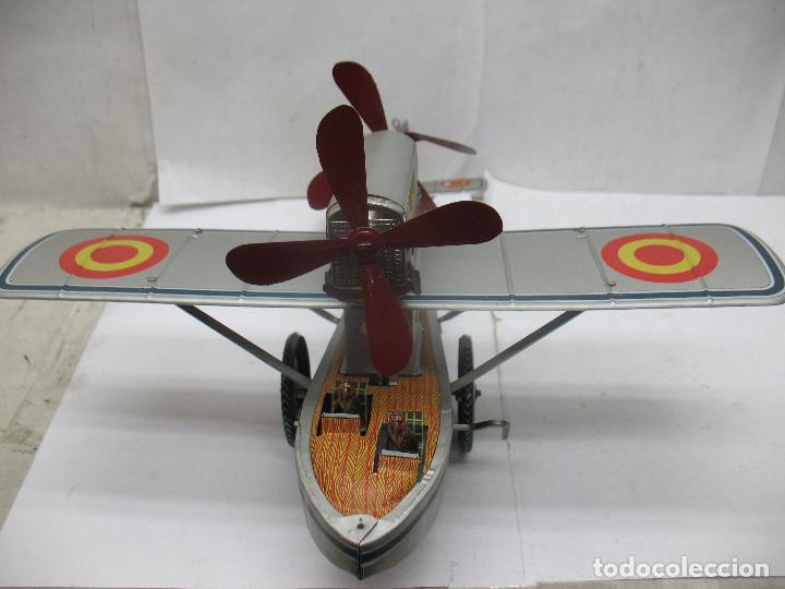 Juguetes antiguos Payá: PAYÁ Ref: 1653 - Réplica avión de la Colección Payá Hermanos 1985 - Foto 6 - 64649459