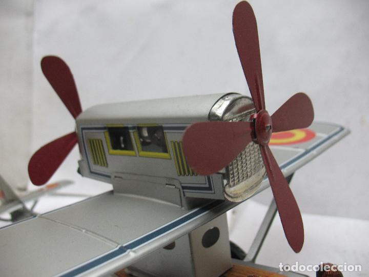 Juguetes antiguos Payá: PAYÁ Ref: 1653 - Réplica avión de la Colección Payá Hermanos 1985 - Foto 7 - 64649459
