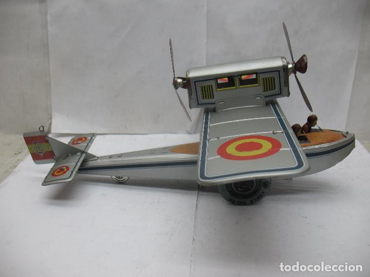Juguetes antiguos Payá: PAYÁ Ref: 1653 - Réplica avión de la Colección Payá Hermanos 1985 - Foto 9 - 64649459