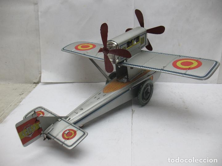 Juguetes antiguos Payá: PAYÁ Ref: 1653 - Réplica avión de la Colección Payá Hermanos 1985 - Foto 11 - 64649459